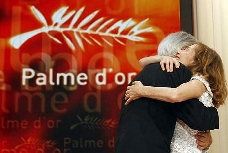 Cannes 2009 - Michael Haneke a Isabelle Huppertová