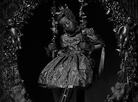 Esmeralda, ze série Blacks (Černí), 1990, 63,5 x 54 cm, Courtesy Flatland Gallery (NL, Paris)