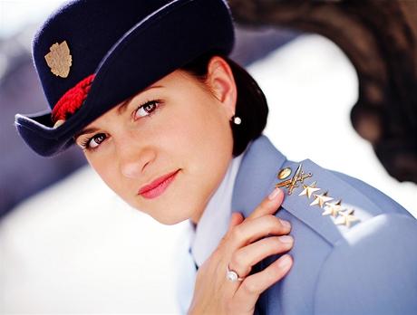 Kapitánka Magdalena Dvořáková - královna festivalu NATO