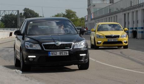 Facelift Škody Octavia RS
