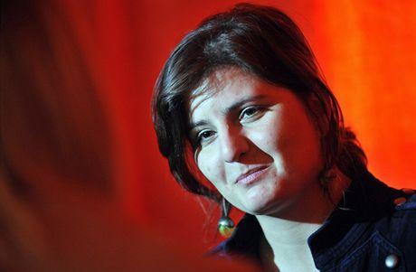 Režisérka studentského filmu Bába Zuzana Špidlová