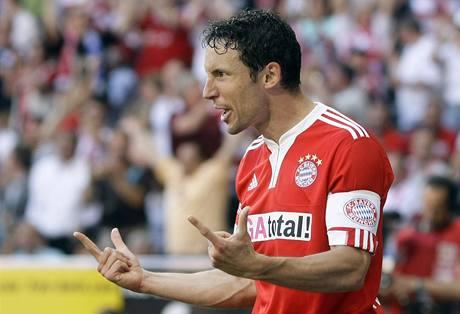 Mark van Bommel z Bayernu Mnichov.