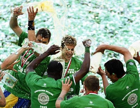 Hráči Wolfsburgu.