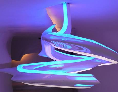 1. podlaží - svítidlo měnící svou barvu