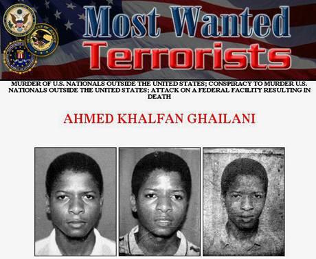 Tanzanec Ahmed Khlfan Ghailani byl mezi nejhledanějšími teroristy FBI