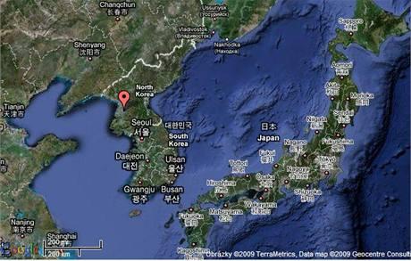 Mapa KLDR