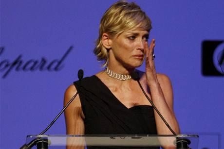 Cannes 2009 - Sharon Stoneová