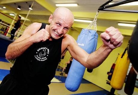 Manažeři boxery - trénink