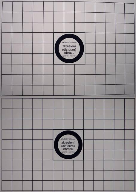 Fujifilm FinePix S1500 - zkreslení