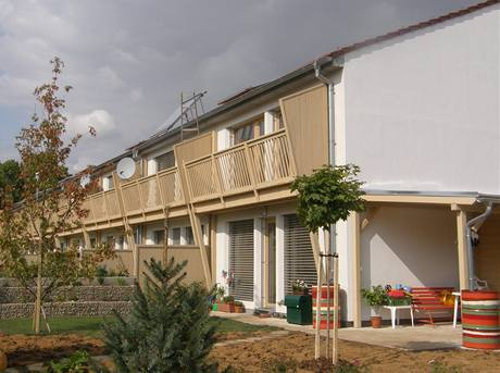 Řadové rodinné domy Židlochovice