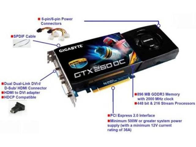 Gigabyte GTX 260 OC
