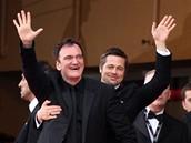 Cannes 2009 - re�is�r Quentin Tarantino a herec Brad Pitt