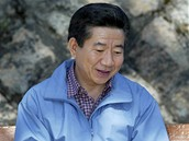 Bývalý prezident Ro Mu-hjon.
