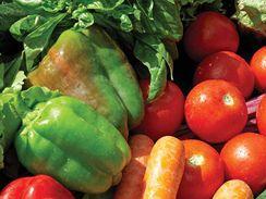 Složení zeleniny se mění podle sezony