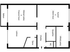 Proměna panelového bytu 3+1