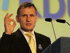 Jiří Čunek na sjezdu KDU-ČSL ve Vsetíně. (30. května 2009)