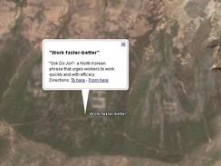 Pracujte rychleji a lépe - Severní Korea v Google Earth