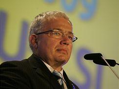 Jan Březina na vsetínském sjezdu KDU-ČSL (30. května 2009)
