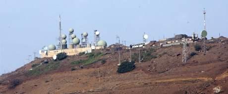 Izraelská základna na Golanských výšinách