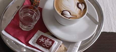 Coffee Club Brno - cappuccino