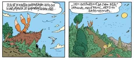 Joann Sfar: Malý princ (ukázka z komiksu)