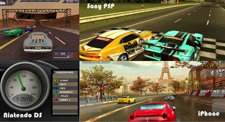 Grafika na iPhone, DS a PSP