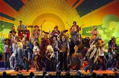 Tony Awards 2009 - z muzikálu Vlasy