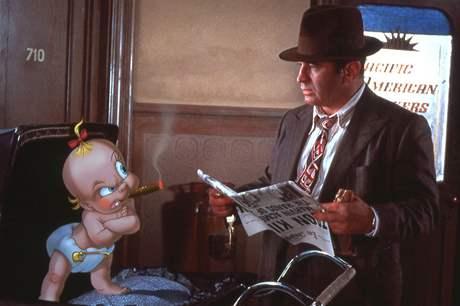 Z filmu Falešná hra s králíkem Rogerem - Frank Sinatra