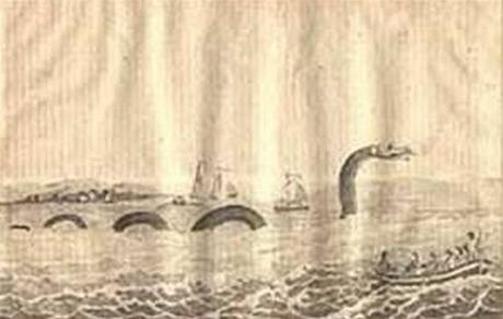 Legendární mořský had