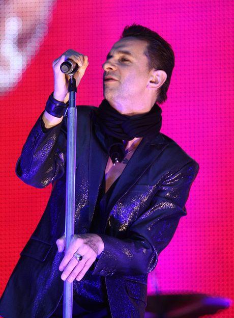 Depeche Mode se vr�tili s Tour Of The Universe - Dave Gahan