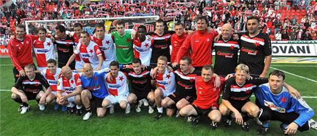 Slavia - exhibiční zápas