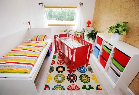 Dětský pokoj čeká na svého obyvatele