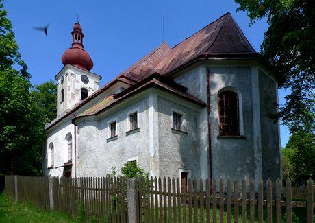 Lesná, kostel sv. Mikuláše