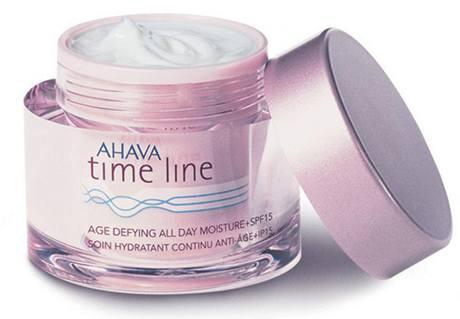 Celodenní hydratační krém Time Line SPF 15, Ahava