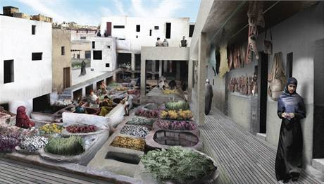 1.místo: Marocké město Fez