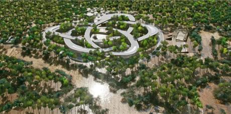 2. místo: Univerzitní komplex v Ho Či Minově Městě