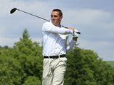 Roman Šebrle při golfu ve Slavkově