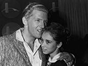 Jerry Lee Lewis se svou třetí manželkou (a sestřenicí) Myrou