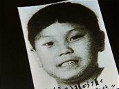 Podoba budoucího vládce Kim Čong-wua je tajná, znám je jen jeho fotka z dětství