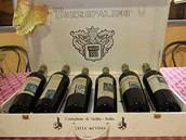 Itálie, Sicílie. Kvalitní sicilské víno zakoupíte přímo na vinohradech