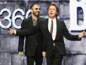 Ringo Starr a Paul McCartney představují hru The Beatles: Rock Band