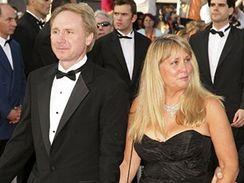 Dan Brown s manželkou Blythe.