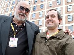 Zlín 2009 - Juan Luis Buňuel s dramaturgem Davidem Čeňkem