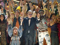 Tony Awards 2009 - ansámbl Hair a Elton John