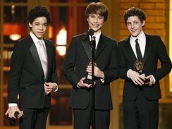 Tony Awards 2009 - (zleva) David Alvarez, Kiril Kulish and Trent Kowalik