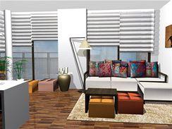 Vzdušný a pohodlný byt 2+1