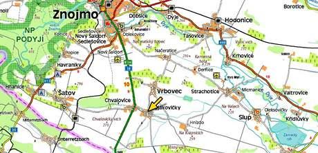 Silná bouře likvidovalo úrodu a majetek lidí v obcích na Znojemsku