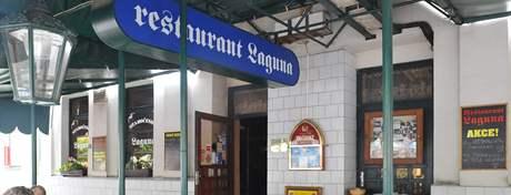 Restaurace Laguna ve Smetanově ulici v Brně