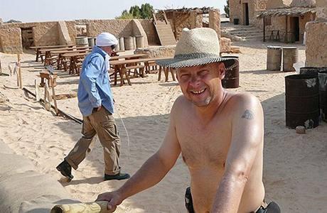 Tobruk - natáčení v Tunisku - Václav Marhoul
