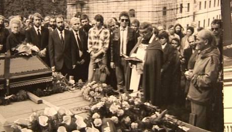 Pohřeb Pavla Wonky